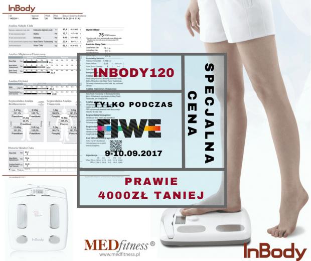 Mega promocja na InBody120 tylko dla uczestników FIWE 2017