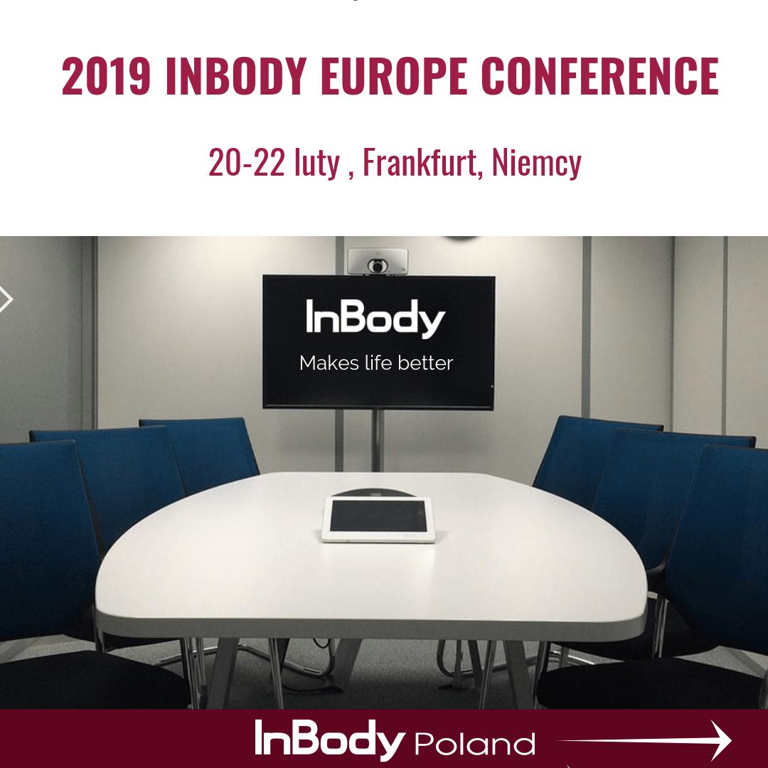 Konferencja InBody Europe 2019