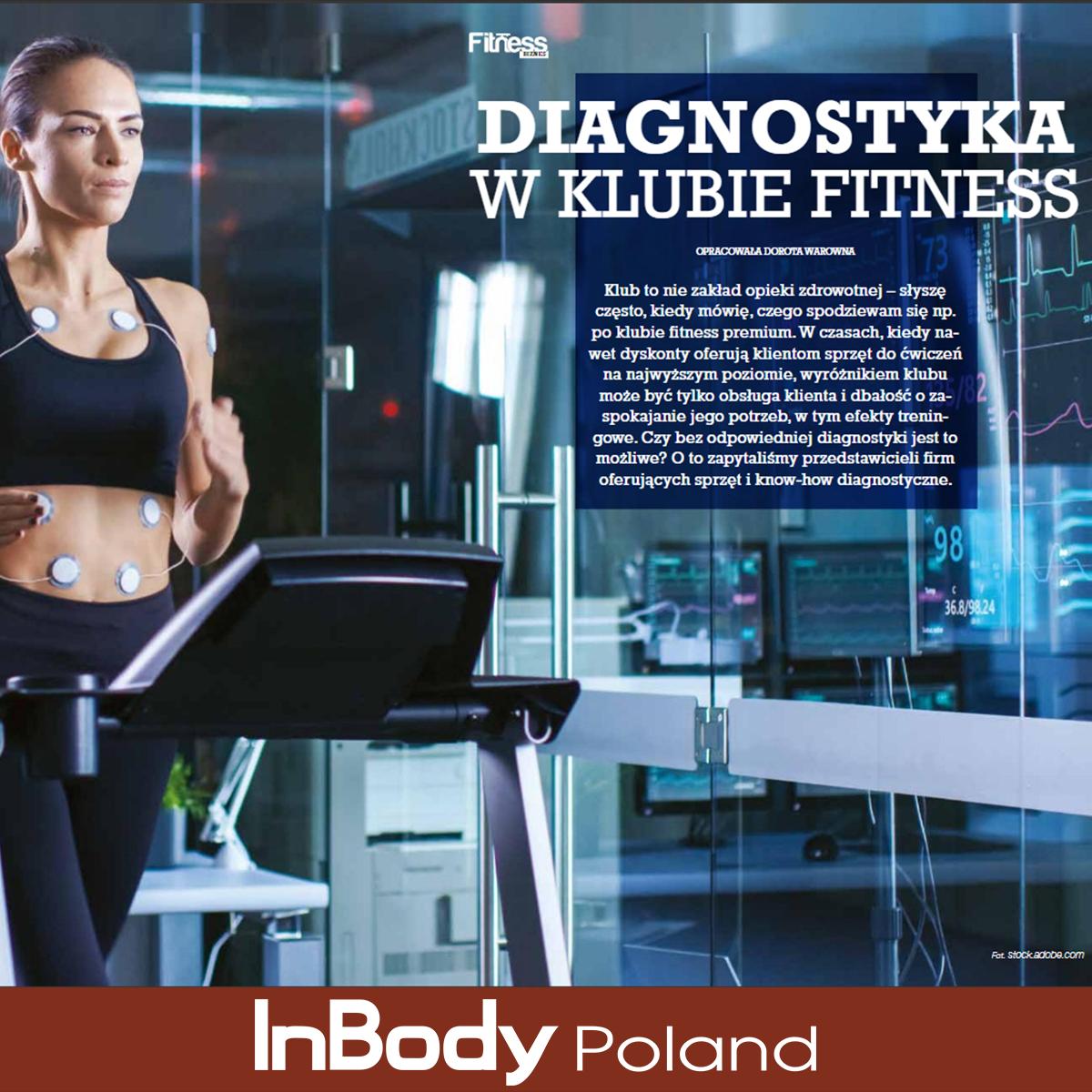 Diagnostyka w fitness klubie