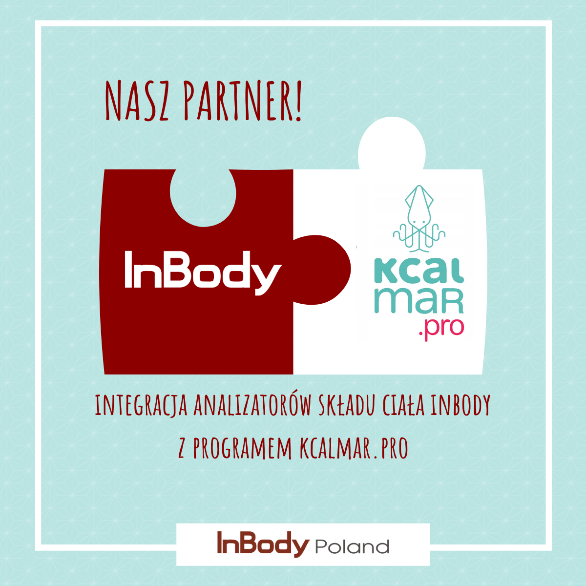 Integracja InBody z Kcalmar.pro