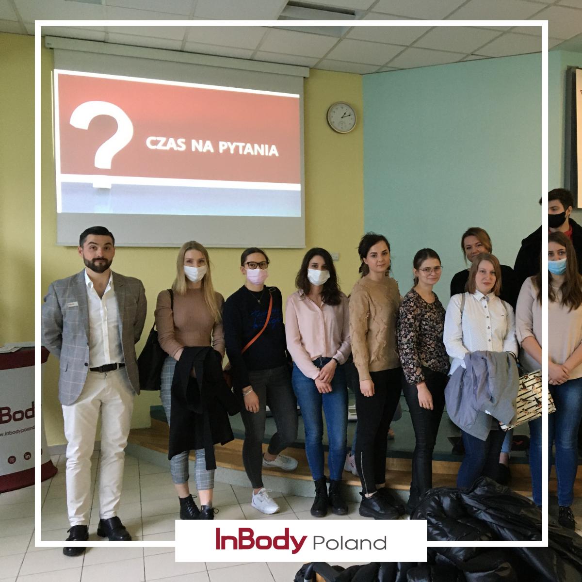 Wykład Akademii InBody w WSUZiE w Poznaniu